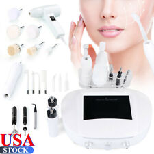 Portable 5 in 1 Galvanic High Frequency Brush Facial Machine Spa Salon Equipment