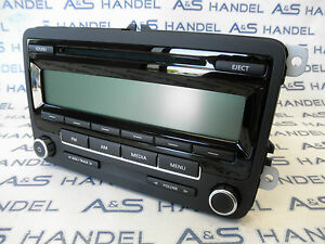 Original VW Volkswagen Radio Autoradio 1K0035164A US USA Mexico CD AM FM NEU NEW