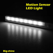 LED-Lichtleiste mit PIR-Bewegungsmelder 8 LEDs weiß Bewegungssensor Nacht Lampe