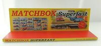Matchbox Superfast / Display SPECIAL EDITION 13 in X 4 in