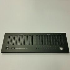 FRONT PANEL FACE PLATE for SANSUI SE-7 Stereo Audio Equalizer 10 Band EQ Part