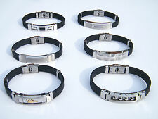HIGH QUALITY STAINLESS STEEL 316L WRISTBAND MEN'S JEWELLERY BRACELET