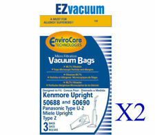 Kenmore 20-50688 / 20-50690 Style U Vacuum Cleaner Bags # Panasonic U-2,U2 bags