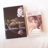 MUSIC BUNDLE Life with My Sister Madonna Christopher Ciccone & I Tina Turner Ike