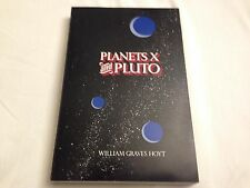 Planets X and Pluto  SIGNED BY AUTHOR & DISCOVERER OF PLUTO CLYDE TOMBAUGH