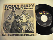 """WOOLY BULLY  Ain't Gonna Move 7"""""""