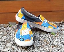 Custom Hand Painted Classic VANS Adventure Time Shoes Size 9.5 Men's/11 Women's