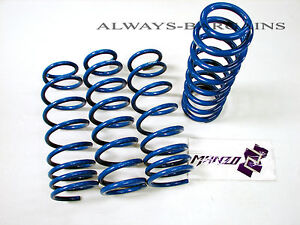 Manzo Lowering Coil Springs Fits Toyota Corolla E110 98-02 LSTCO-9802