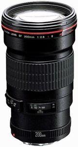 Canon EF 200mm f/2.8 II L USM Lens