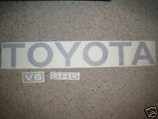 TOYOTA TRUCK TAILGATE LOGOS DECAL 89-95 SILVER pickup