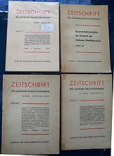 ZEITSCHRIFT DES AACHENER GESCHICHTSV.: 4 BÄNDE 1957/1967/1985+Gesamtinhaltsv: