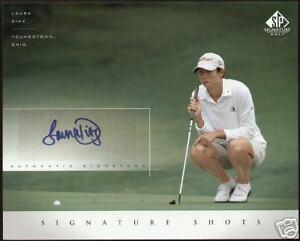 Laura Diaz signed 2004 Upper Deck Signature Shots 8x10