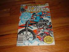 TEAM AMERICA #4 Bill Mantlo LUKE MCDONNELL Rick Parker VINTAGE COMIC BOOK Bikers