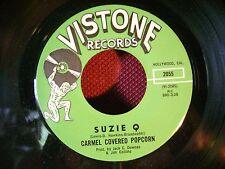 ORIG PRESSING MINT/M- GARAGE FUZZ PSYCH 45~CARMEL COVERED~SUZIE Q/LOOKING~LISTEN