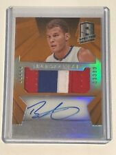 2014-15 Panini Spectra BLAKE GRIFFIN Patch Auto Spectacular SS-BG Prizm 07/25