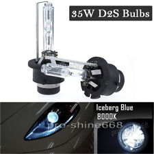 A Pair 8000k 8K Ice Blue D2S D2R D2C HID Xenon Bulbs Replace HID Headlights PQ