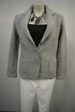 FABIANI Damen Blazer Jacke Grau  38  mit  Wolle Klassisch warm TOP