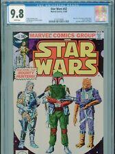 1980 MARVEL STAR WARS #42 1ST APPEARANCE BOBA FETT CGC 9.8 WHITE