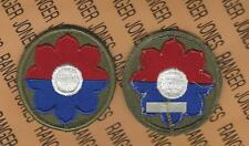 US Army 9th Infantry Division OLD RELIABLES uniform patch m/e