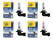 HELLA 4x Halogenlampe Halogenbirne HB3 12V 60W P20d STANDARD