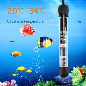 Submersible Water Heating Rod For Aquarium Fish Tank 25W 50W 100W 200W 300W SS-1