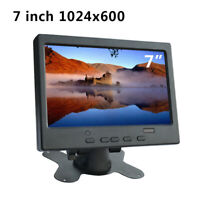 7 inch Display LCD HD Monitor TFT VGA HDMI for Raspberry Pi Car CCTV Camera