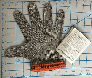 NEW * XL * CHAINEX SL-SLX STAINLESS STEEL CUT RESISTANT GLOVE SIZE: XTRA LARGE