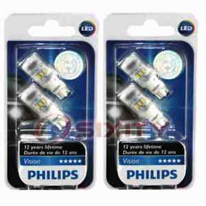 2 pc Philips Map Light Bulbs for AM General Hummer 1999-2001 Electrical yc