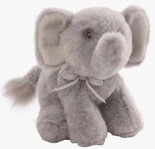 Baby Rattle By GUND Oh So Soft Elephant Grey Plush Soft Toy (4053985) NEW
