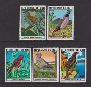Mali - 1978, Birds set - MNH - SG 632/6