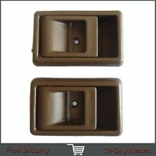 For Toyota Tacoma 4Runner Pickup Inside Left Right Side Brown Door Handle 95-00