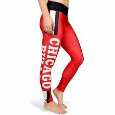Forever Collectibles NBA Women's Chicago Bulls Team Stripe Legging