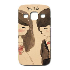 CUSTODIA COVER CASE COPPIA SPOSI MATRIMONIO MARRIED PER SAMSUNG GALAXY S3 i9300