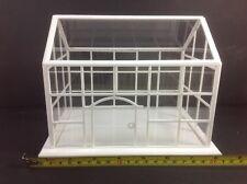"Dollhouse Miniature Store Shop Big White Acrylic 8"" Display Showroom Case 1:24"