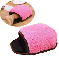 Computer Heated Mouse Pad USB Powered Hand Warmer With  Wrist Support Warm