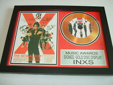 INXS   SIGNED  GOLD CD  DISC   7