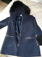 Manteau neuf Claudie Pierlot bleu marine taille 36