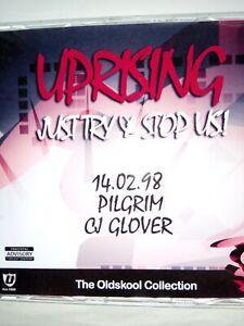 UPRISING 14.02.98 PILGRIM & GLOVER OLDSKOOL CD