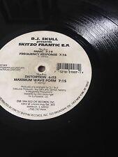 Vinyl rare : D.J. Skull* – Skitzo Frantic E.P.