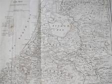 COPPER ENGRAVING SEVEN UNITED PROVINCES HOLLAND NETHERLAND COOKES GEOGRAPHY 1802