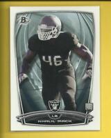 Khalil Mack RC  2014 Bowman Rookie Card # 54 Raiders  Chicago Bears Football