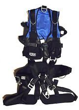 CMC Rescue 202131 01 Confined Space Harness, BLUE