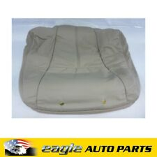 HOLDEN STATESMAN WH FRONT SEAT BACK COVER SHALE # 92142670