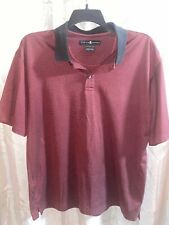 Nike Tiger Woods Black And Red Polo Size Large