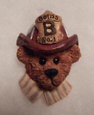 Boyds Bear Magnet (Made From A Pin) Fireman, Elliot