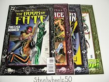 Convergence #1-4 Comic Lot DC 1997 Book Of Fate 6 Night Force 8 Challengers 6