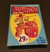 RARE COWBOY VINTAGE SLAPJACK CARD GAME BY FAIRCHILD WITH INSTRUCTIONS EXCELLENT
