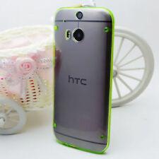 Étuis, housses et coques transparent en silicone, caoutchouc, gel pour téléphone mobile et assistant personnel (PDA) HTC