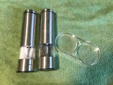 Latent Epicure Battery Operated Salt and Pepper Grinder Set  of 2 - Used