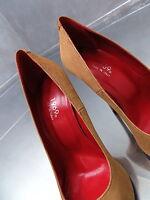 NEU 1969 ITALY LEDER LUXUS BEST Leather Damen Z41 Sexy Stiletto High Heels Pumps